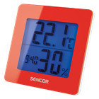 SWS 1500 RD Thermometer with Alarm Clock