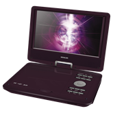 SPV 2919 RED Portable DVD Player