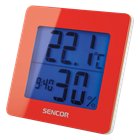 SWS 15 RD Thermo Hydro Clock