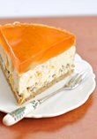 Nut-orange cheesecake