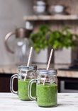 Green detoxing smoothie recipe